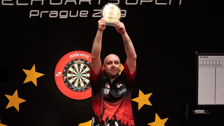 Jamie Hughes claimed his first senior PDC title by winning the Czech Open to book a debut at the World Matchplay