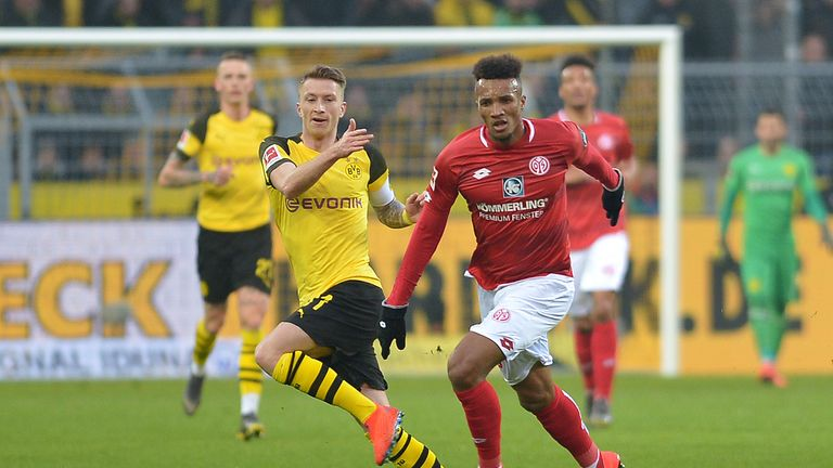 Jean-Philippe Gbamin joins Everton for an undisclosed fee from Mainz
