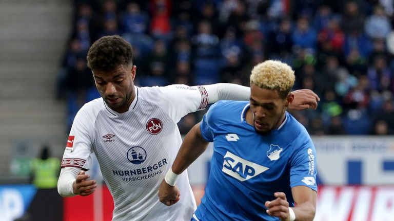 Joelinton scored seven league goals for Hoffenheim last season and featured in the Premier League
