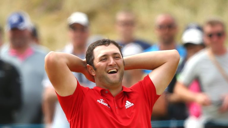 Rahm earned a two-shot win in his home Open last April