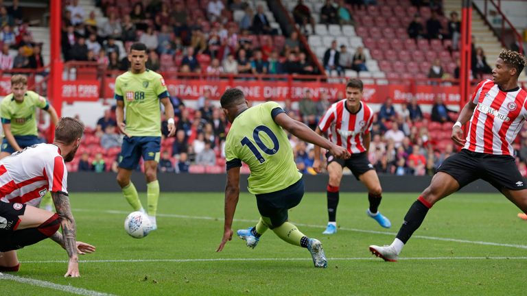 Jordan Ibe notched from close-range at Griffin Park