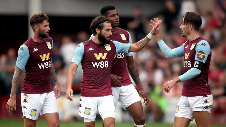 Jota has been Villa's stand-out performer in pre-season