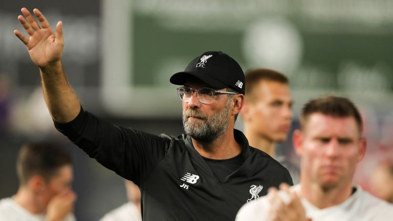 Jurgen Klopp insists Liverpool will play to win the trophy on Sunday