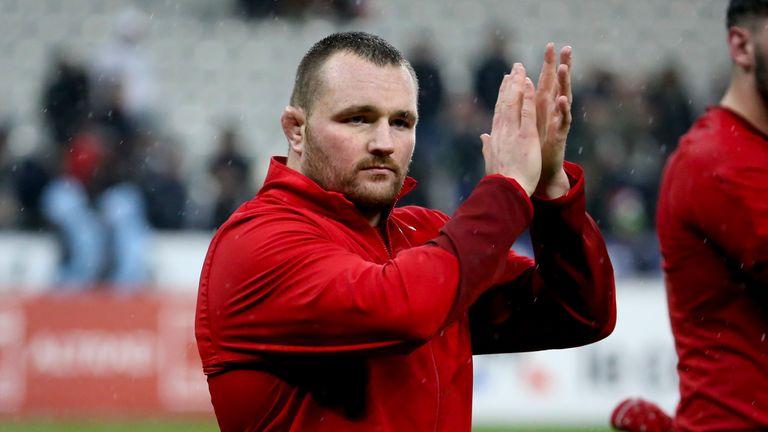 Ken Owens is a leader in the Wales pack
