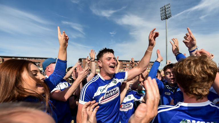 There were remarkable scenes in O'Moore Park
