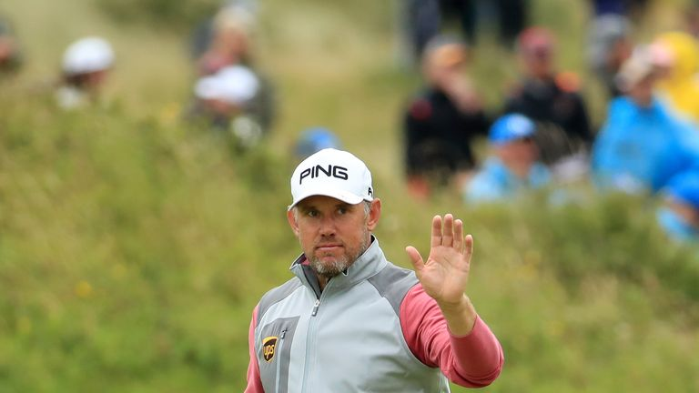 Lee Westwood's top-four finish earned him a Masters invite