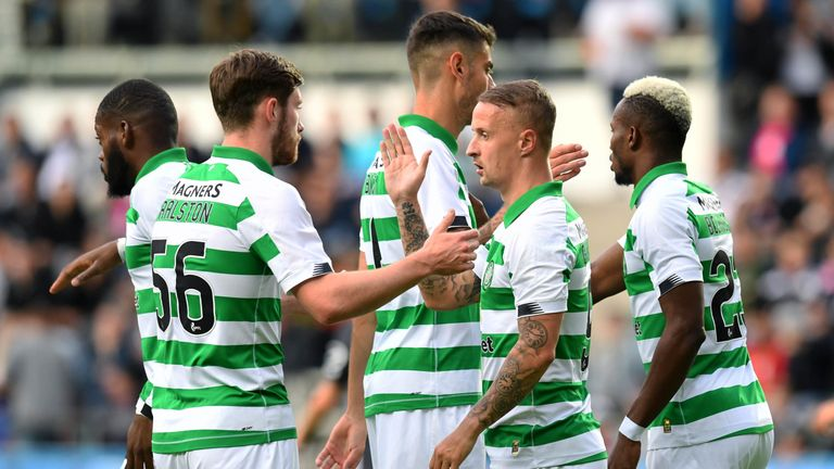 Celtic are bidding to qualify for the Champions League group stages