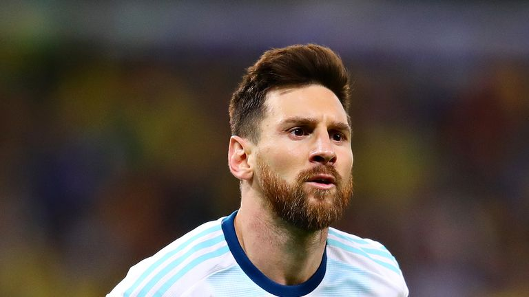 Lionel Messi is not in the latest Argentina squad