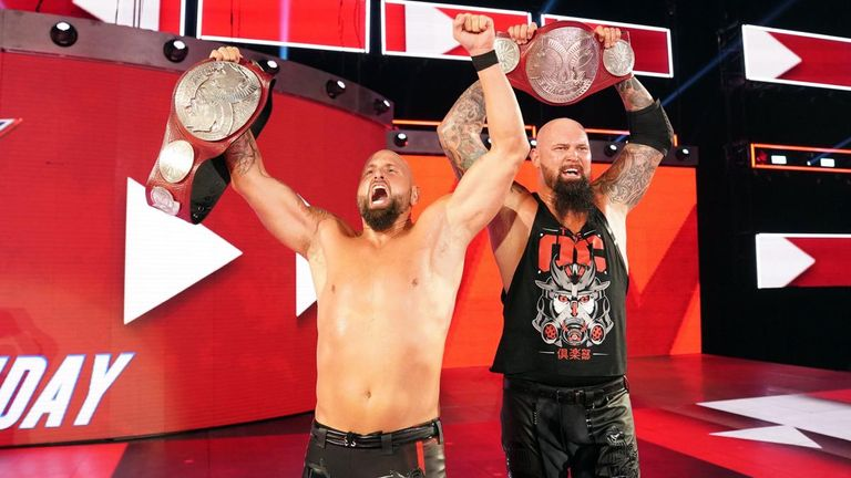 Luke Gallows and Karl Anderson's victory for the Raw tag titles means that all three OC members now hold a championship