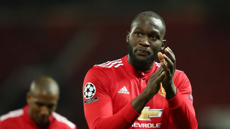Lukaku scored 42 goals in 96 matches for United