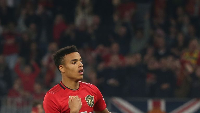 Greenwood has scored two goals in Man Utd's opening friendly games