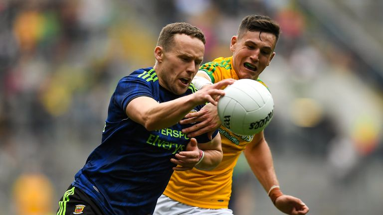 Andy Moran made a telling contribution in the second-half