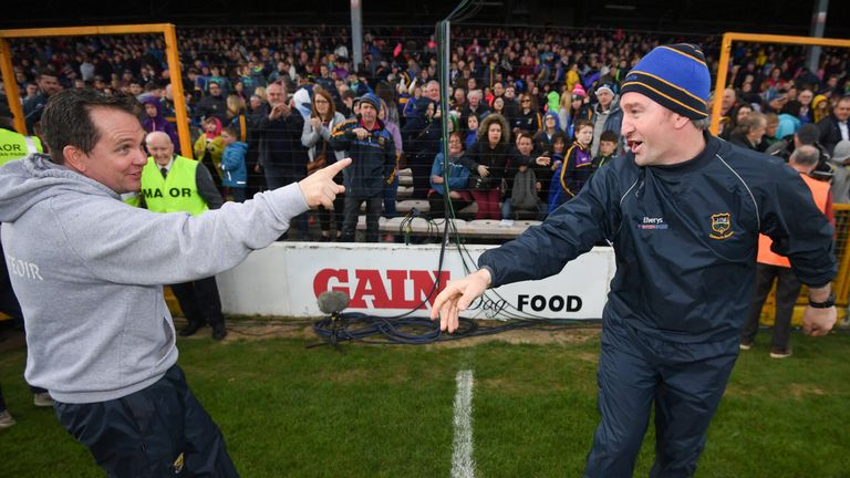 Ryan duelled with Davy Fitzgerald's Wexford side during his Tipp reign