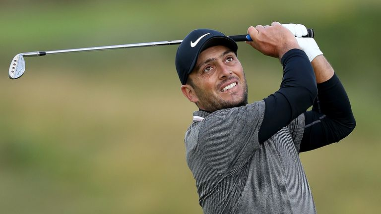 Francesco Molinari's coach Denis Pugh joins Nick Dougherty at the Open Zone to analyse the defending champion's swing