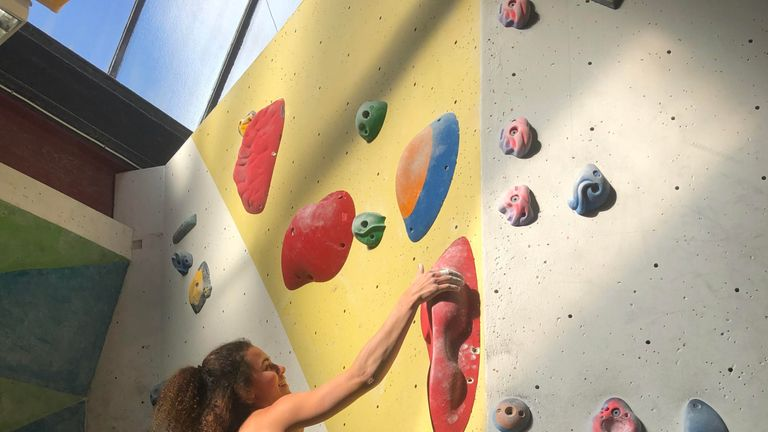 The Olympics will feature three disciplines - speed climbing, bouldering and lead climbing