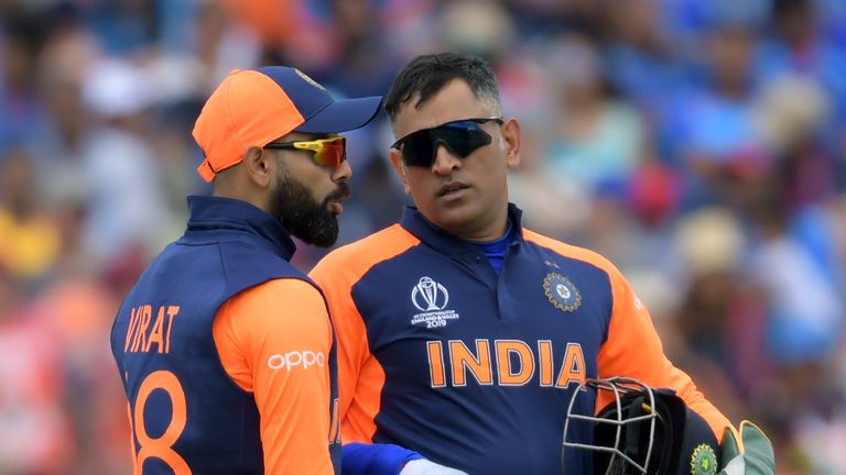 Virat Kohli and MS Dhoni are aiming to lead India into the World Cup final