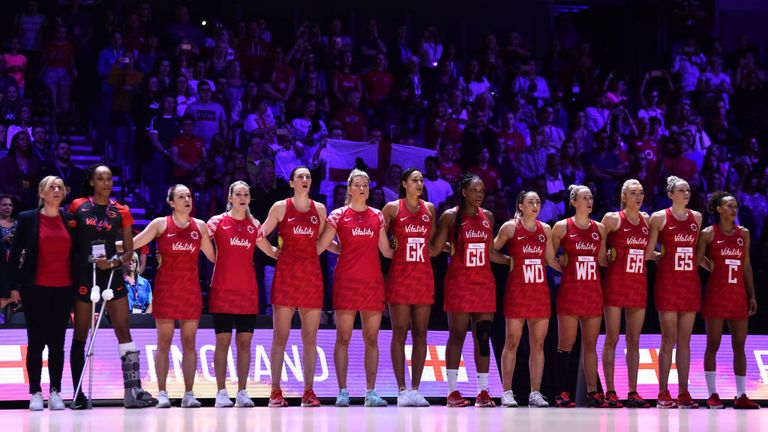 The strength of the squad, both on and off the court, will be key for England at this Netball World Cup