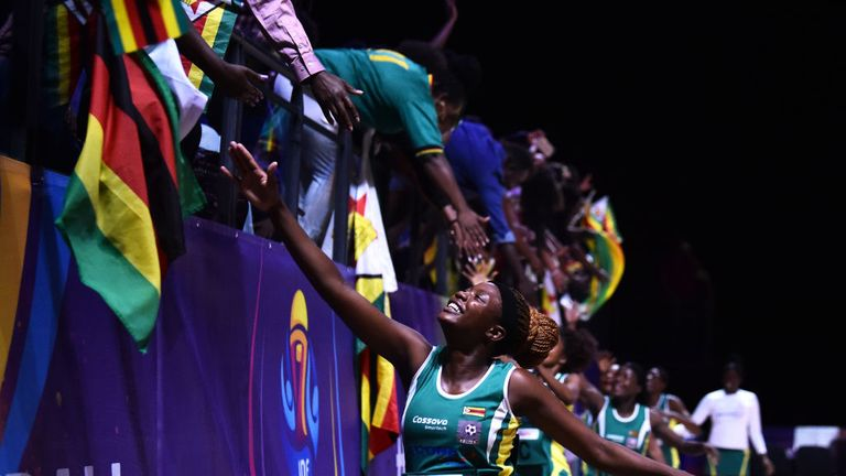 The Zimbabwe Gems have been at the very heart of this Netball World Cup