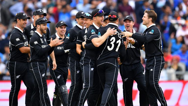New Zealand shocked India in the semi-final at Old Trafford