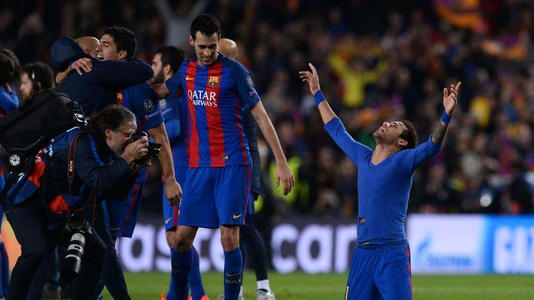Neymar has fondly recalled Barcelona's 6-1 win over PSG