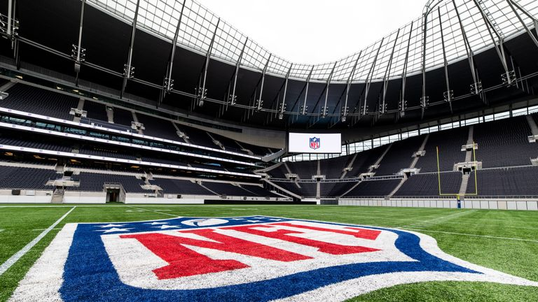 The NFL Academy took over Tottenham Hotspur Stadium (All images from NFL UK)