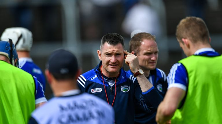Niall Corcoran has been working under Eddie Brennan with Laois