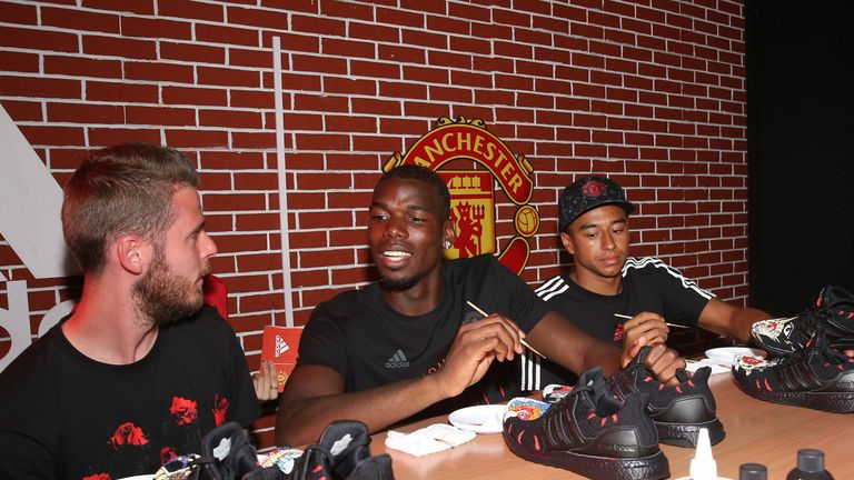 Paul Pogba is classed as an academy graduate at Manchester United