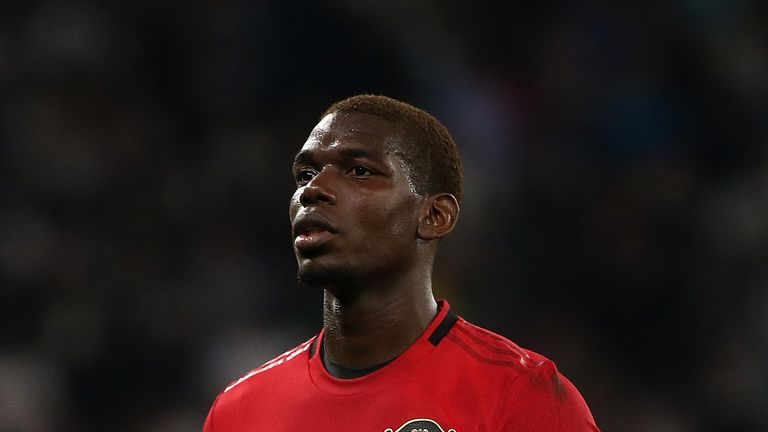 Paul Pogba has been heavily linked with a move to Real