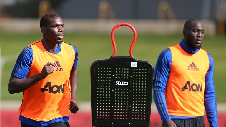 Paul Pogba and Romelu Lukaku were called up to Manchester United's training camp in Australia but continue being linked with moves away from the club