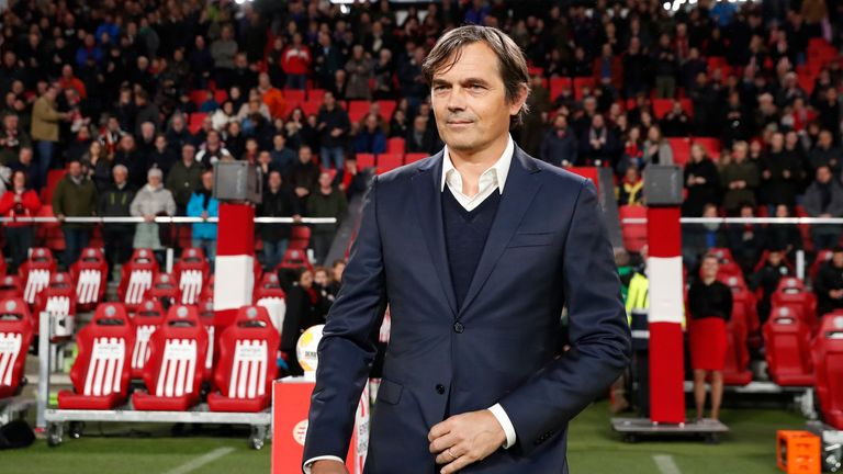 Philip Cocu has signed a four-year contract at Derby