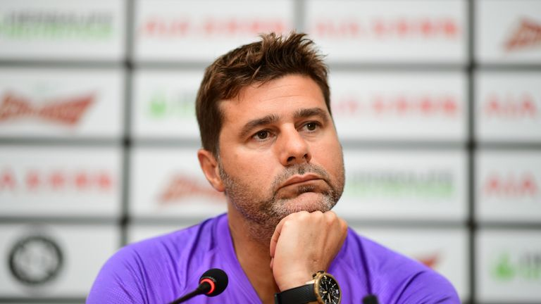 Pochettino said last week his job title should be changed from manager to head coach as he has no influence over Tottenham's transfer activity