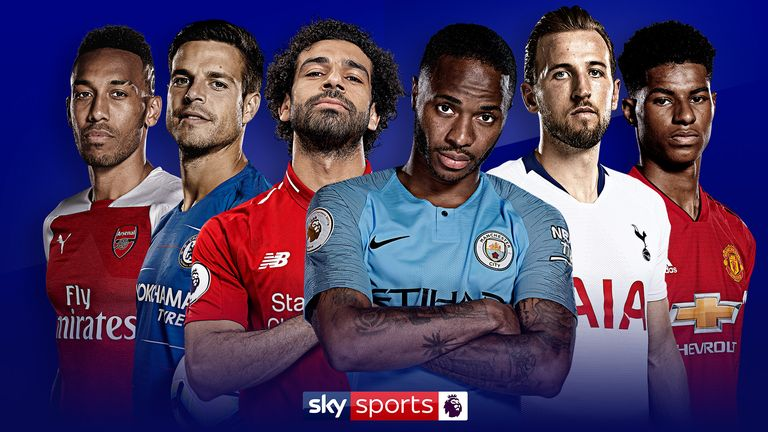 Watch the 'Big Six' live on Sky Sports Premier League in August and September
