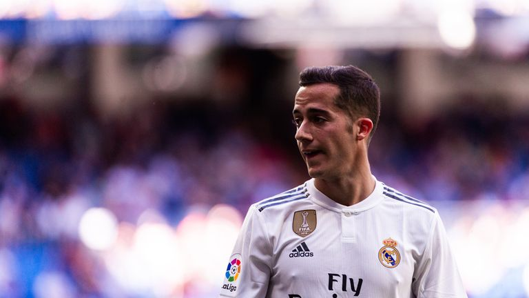 Real Madrid winger Lucas Vazquez is a reported target for Arsenal