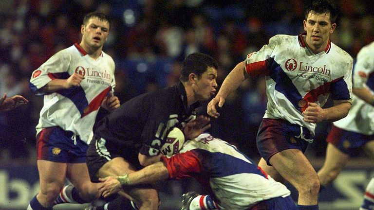 Great Britain suffered a defeat to New Zealand in Bolton in 1998