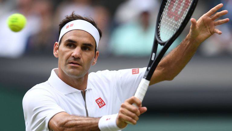 Roger Federer dropped a set in the first round at Wimbledon for the first time since 2010 on Tuesday