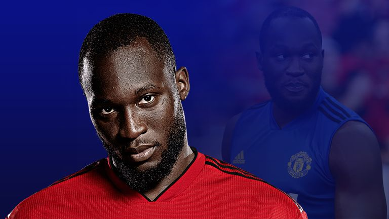 Romelu Lukaku appears to have fallen out of favour at Manchester United