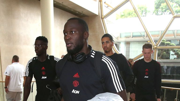 Romelu Lukaku could be on his way to the Serie A champions