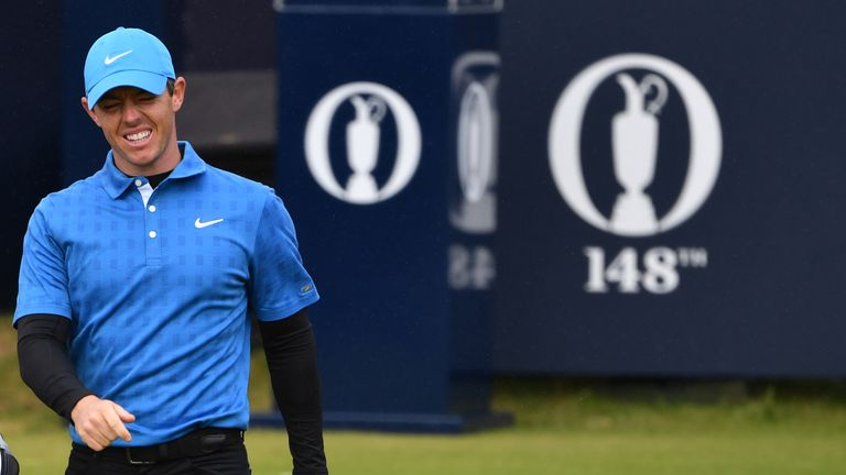 McIlroy's quadruple-bogey was only his second ever in majors