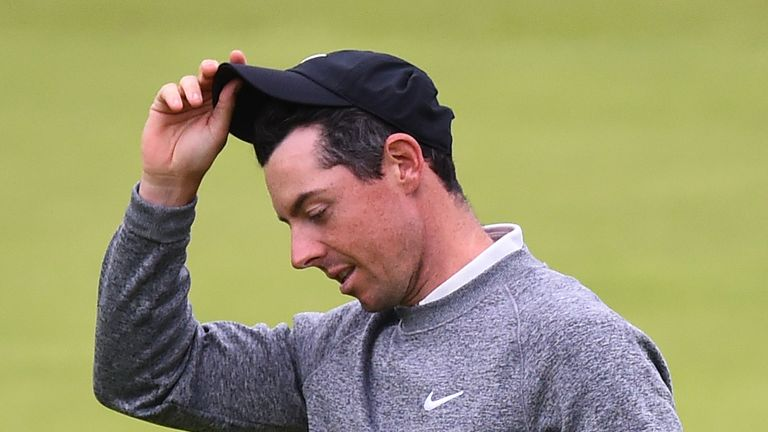 Rory McIlroy missed the cut at The Open
