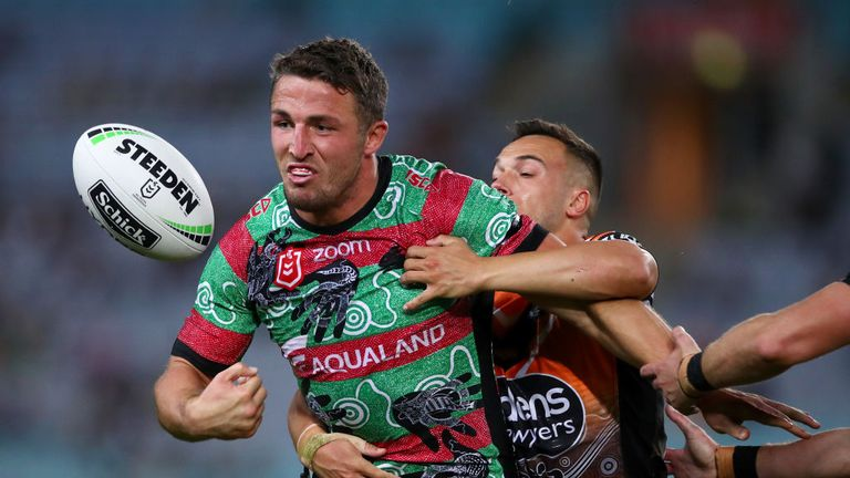 Sam Burgess features among the NRL's talking points this week