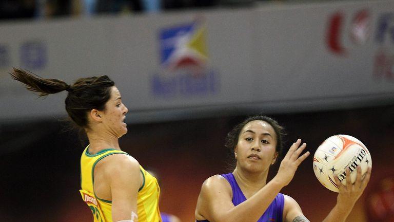 Samoa played Australia at the 2011 World Netball Championships