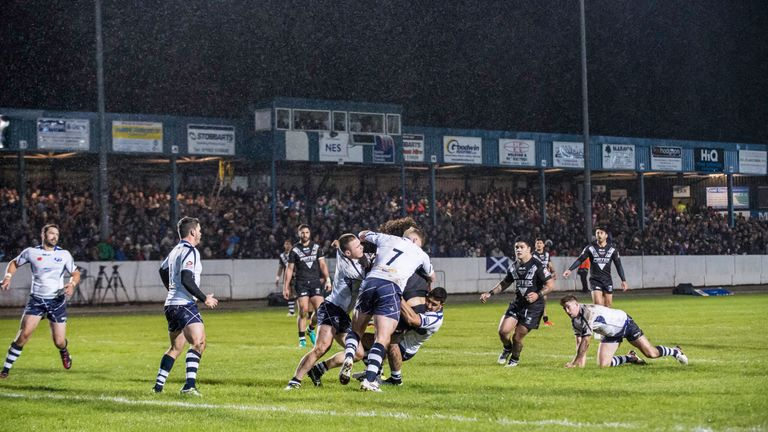Scotland's Four Nations match with New Zealand in Cumbria drew over 6,600 spectators
