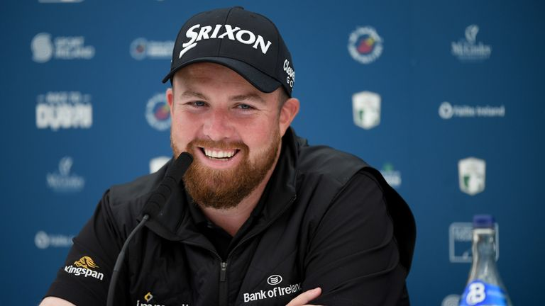 Lowry held a press conference on Tuesday ahead of the Rolex Series event