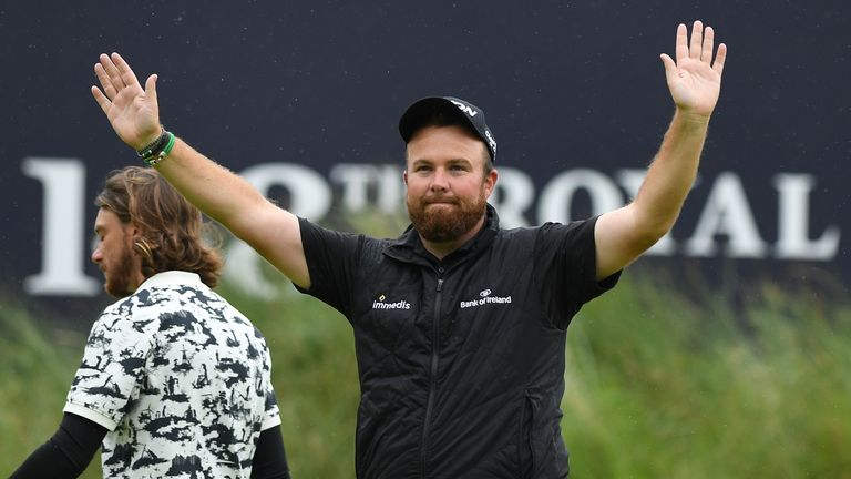 It was an emotional moment for Irishman Shane Lowry as he won The Open Championship at Royal Portrush after finishing the tournament 15-under-par.