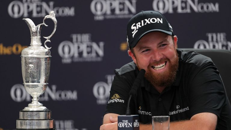 Lowry will defend the Claret Jug at Royal St. George's Golf Club from July 16-19 2020