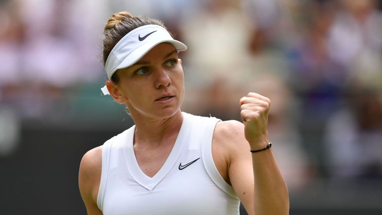 Simona Halep has her eyes set on a second Grand Slam title