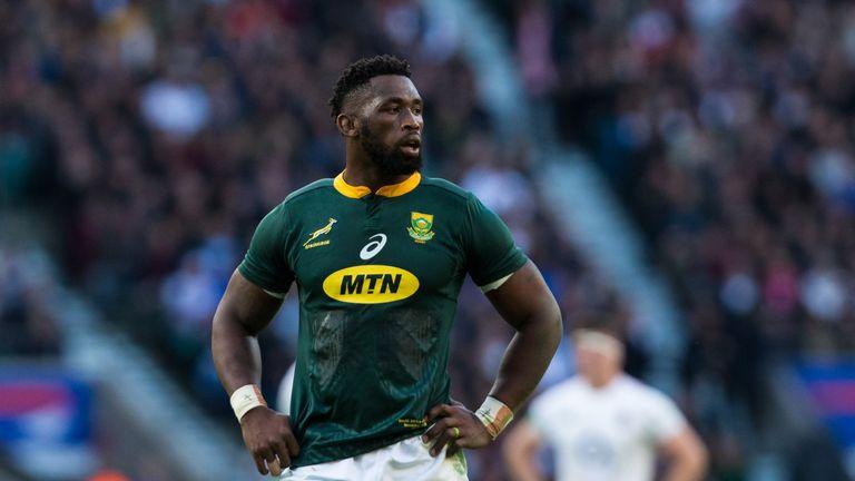 Springbok skipper Siya Kolisi is out with a worrying knee injury
