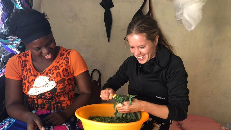 Pedersen is a Common Goal ambassador donating one per cent of her salary