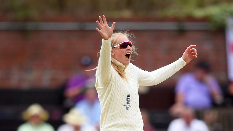 Spinner Sophie Ecclestone proved to be England's biggest threat with the ball this summer