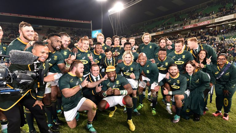 The Springboks looked far more like their old menacing selves in 2018, compared to poor years in 2016 and 2017